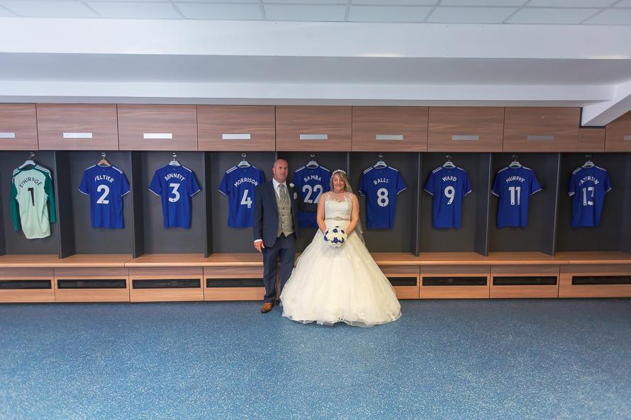 Wedding Photography cardiff city football club