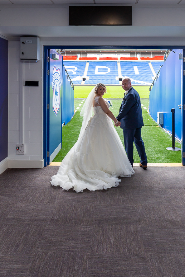 Wedding Photography cardiff city football club